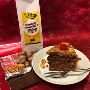 German Chocolate Cake 12oz bag ground coffee