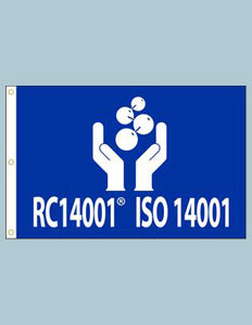RC 14001® ISO 14001 Flag