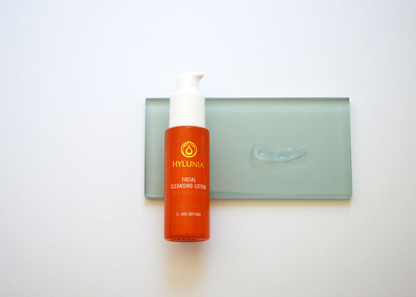 Calming non stripping organic acne cleanser, travel size