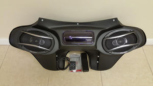 Harley RK Fairing (2) 6x9 Cutouts Radio & Speakers - Backyard Air Suspension & Innovations, LLC.