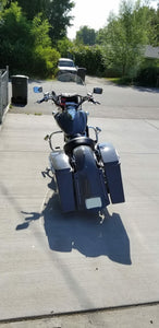 "Honda VTX 1300 4"" Bagger Kit & Lids - Backyard Air Suspension & Innovations, LLC."