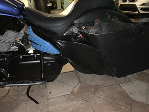 Honda VTX 1300 Sidecovers - Backyard Air Suspension & Innovations, LLC.