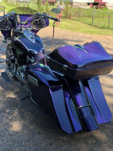 Honda VTX 1300 Tour Pak - Backyard Air Suspension & Innovations, LLC.
