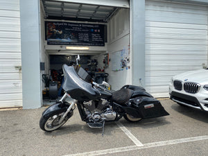 "Honda VTX 1800 6"" 9"" Bagger Kit Lids & Sidecovers - Backyard Air Suspension & Innovations, LLC."