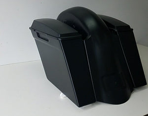 "Honda VTX 1300 4"" Bagger Kit Lids & Sidecovers - Backyard Air Suspension & Innovations, LLC."
