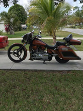 "Load image into Gallery viewer, Honda VTX 1300 6"" 9"" Bagger Kit, Lids & Sidecovers - Backyard Air Suspension & Innovations, LLC."
