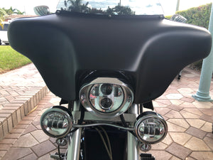 Honda VTX 1800 Batwing with Radio & (2) 6X9 Speakers - Backyard Air Suspension & Innovations, LLC.