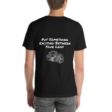 Load image into Gallery viewer, BAS Put Something Exciting Between Your Legs Men's T-Shirt - Backyard Air Suspension & Innovations, LLC.