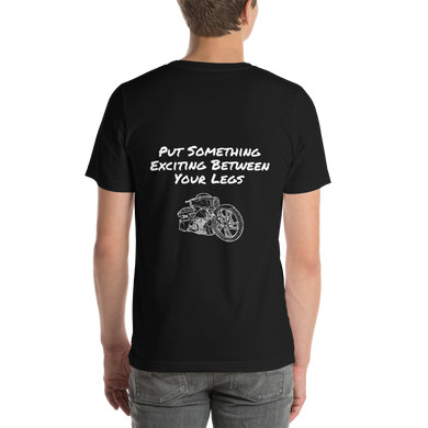 BAS Put Something Exciting Between Your Legs Men's T-Shirt - Backyard Air Suspension & Innovations, LLC.