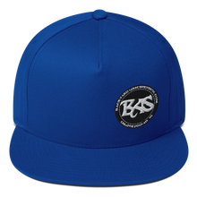 Load image into Gallery viewer, BAS Flat Bill SnapBack Hats - Backyard Air Suspension & Innovations, LLC.