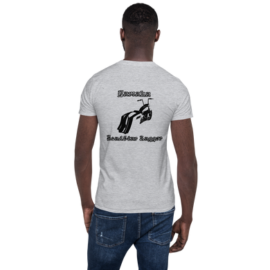 BAS Yamaha Road Star Bagger Short-Sleeve Men's T-Shirt - Backyard Air Suspension & Innovations, LLC.