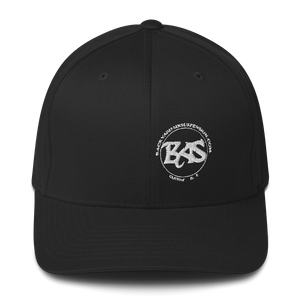 BAS Fitted Men's Hat - Backyard Air Suspension & Innovations, LLC.