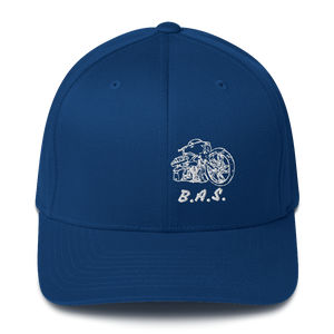 BAS Front Facing Bagger Fitted Hats - Backyard Air Suspension & Innovations, LLC.