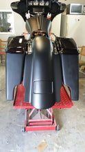 "Load image into Gallery viewer, Harley 6"" Rear Fender Saddlebags Lids for Street Glides - Backyard Air Suspension & Innovations, LLC."