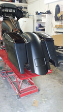 "Load image into Gallery viewer, Harley 5"" Stretched Fender Saddlebags Lids - Backyard Air Suspension & Innovations, LLC."
