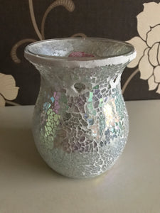 Crackle Mosiac Wax Burner With Melts