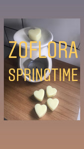 5 Pack of Zoflora Inspired Heart Melts