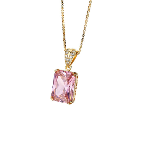 Pink-ing of You Necklace