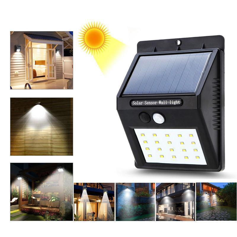 Merryferris™ 20 LED Solar Lamps Outdoor, Super Bright Wall Lamp with Motion Sensor