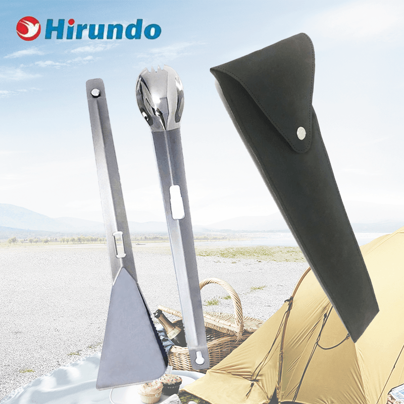 Hirundo® Titanium Outdoor Cooking Multi-Function Tool