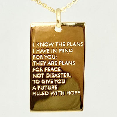The Great Plan necklace for woman - ZOE HOOP JEWELRY