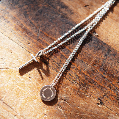 The Shepherd's Cross for men - ZOE HOOP JEWELRY