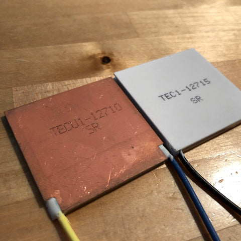 TECu1-12710 Thermoelectric Peltier Chip Module Copper Substrate