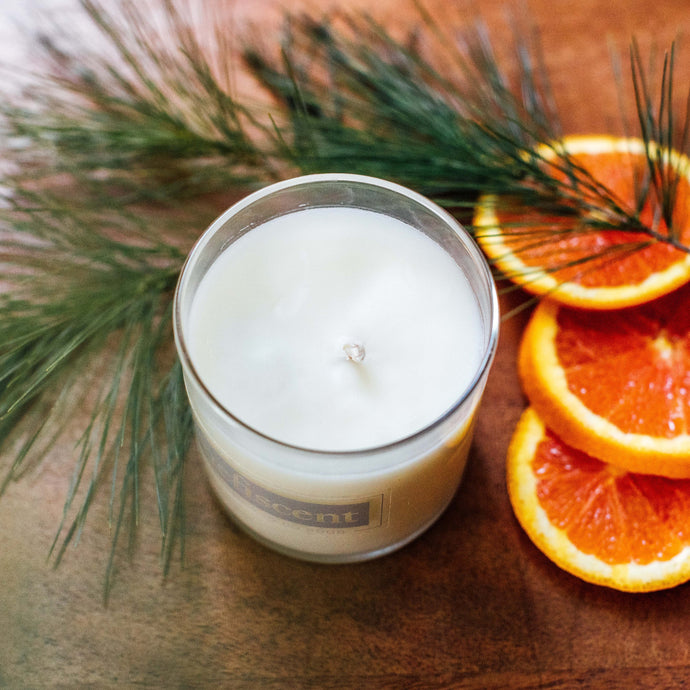 Clementine & Pine Candle
