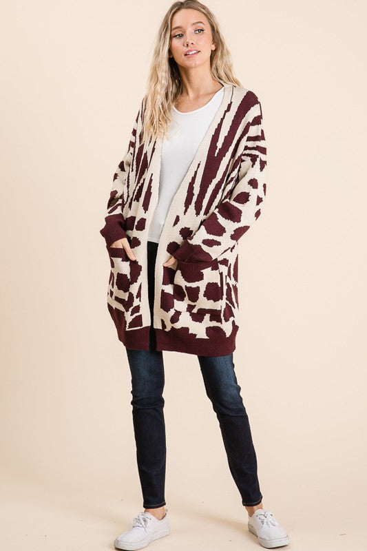 Into The Wild Sweater Cardigan