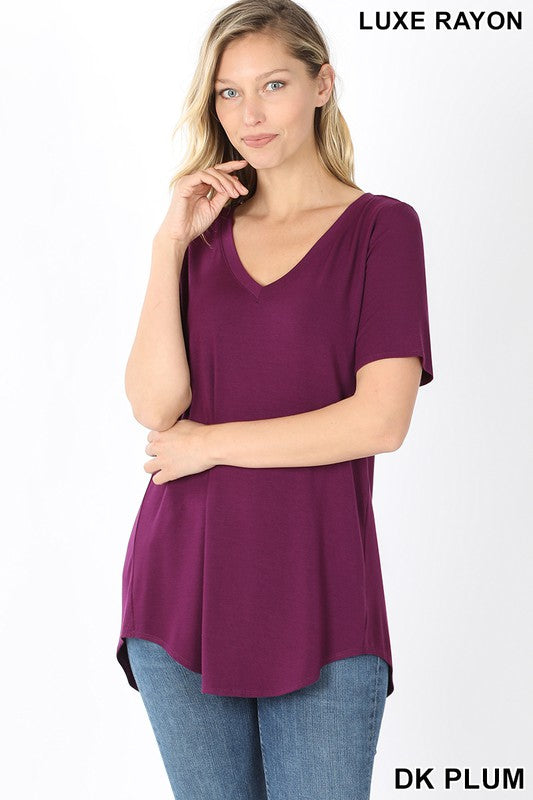 The Everyday Tee - Dark Plum