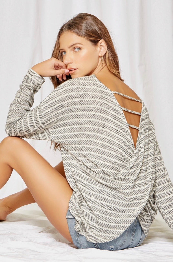 Feeling Free Open Back Top