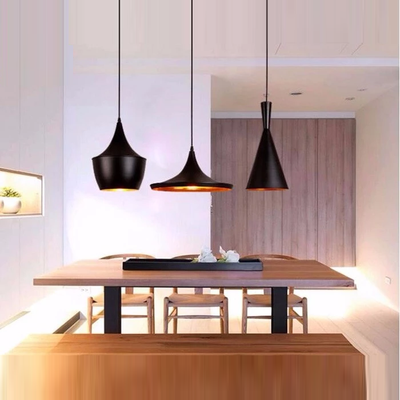 Modern Attractive Lamps E27 Musical Instrument Aluminum Pendant Lights Restaurant Hanging Pendant Light For Dinning Room DG503