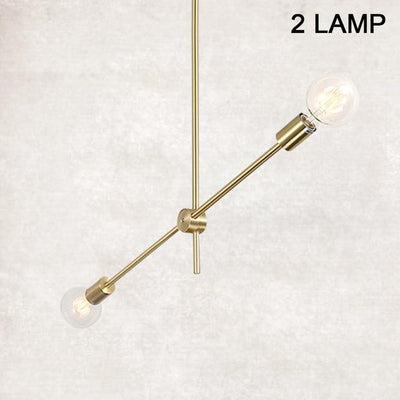 Nordic Modern Pendant Lights Long Pole Designer Pedant Lamps Ceiling Art Decoration Hanging Lamp Bar Dining Kitchen Living Room