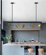 Europe Nordic Copper Brass Pendant Lights Modern Pendant Lamp Bedroom Dinning Bar Hanglamp Golden Spotlight Luminaire Suspension