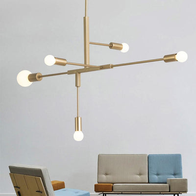 Nordic Modern Gold Pendant Light