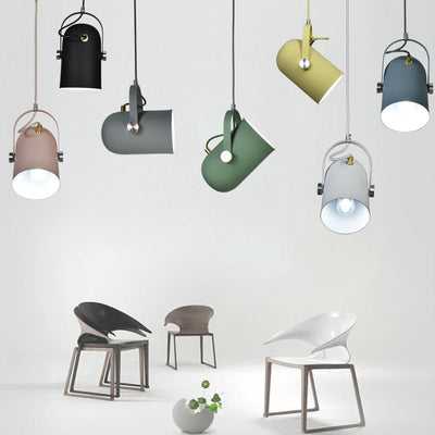 Nordic Minimalism Droplight Angle Adjustable E27 Small Pendant Lights