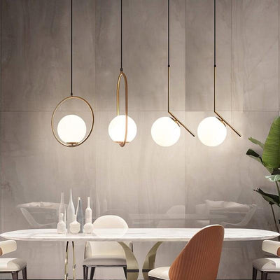 Modern Moon Pendant Light