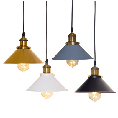 Vintage Pendant Lights Loft Hanging Lamp Lampshade For Dining Bedroom