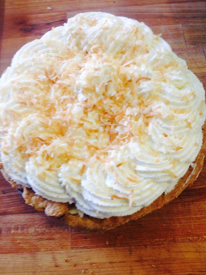 Coconut Cream Pie (whole)