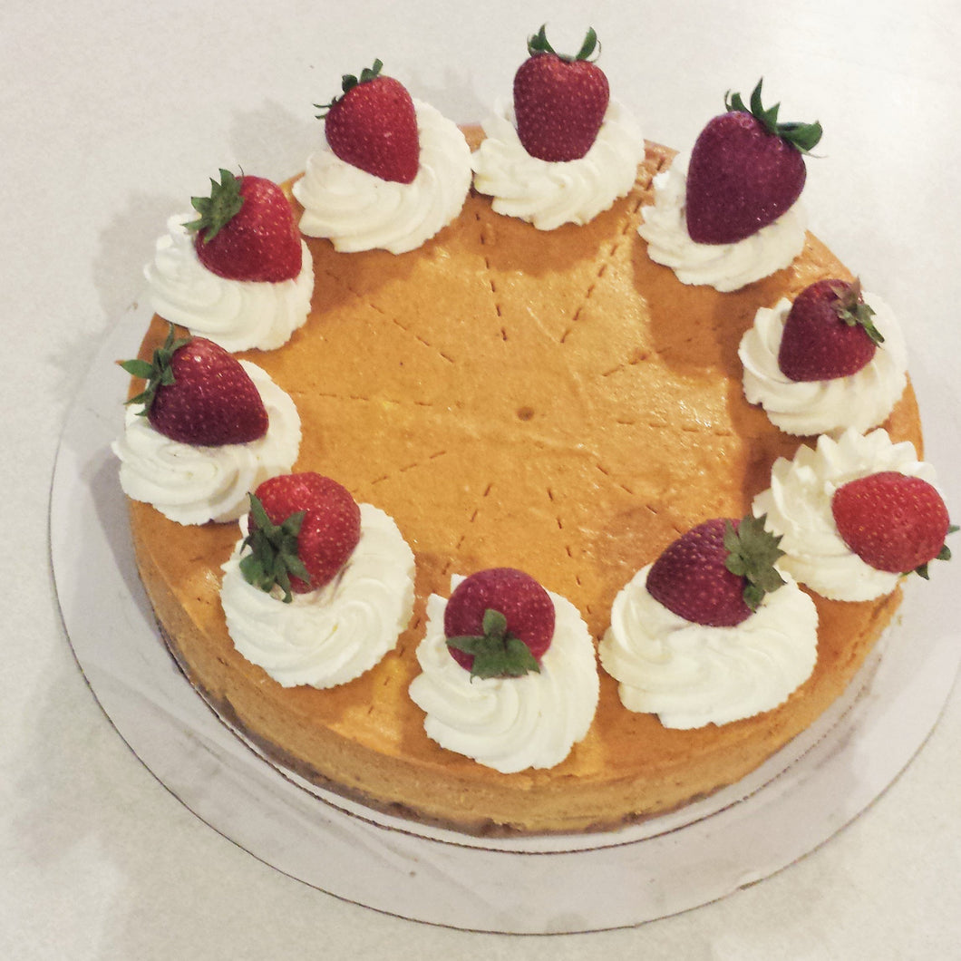 Pumpkin Cheesecake (whole)