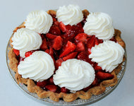 Fresh Strawberry Pie (Slice)