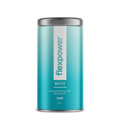 Flexpower Cool Bath Salt with Eucalyptus and Lime