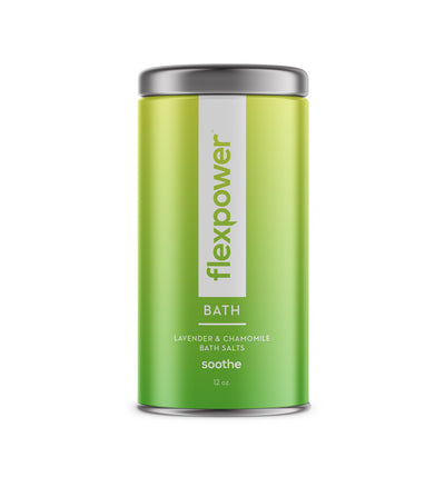 Flexpower Soothe Bath Salt with Lavender and Chamomile