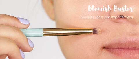 Concealing 101- Colour-correcting and concealing with brushes