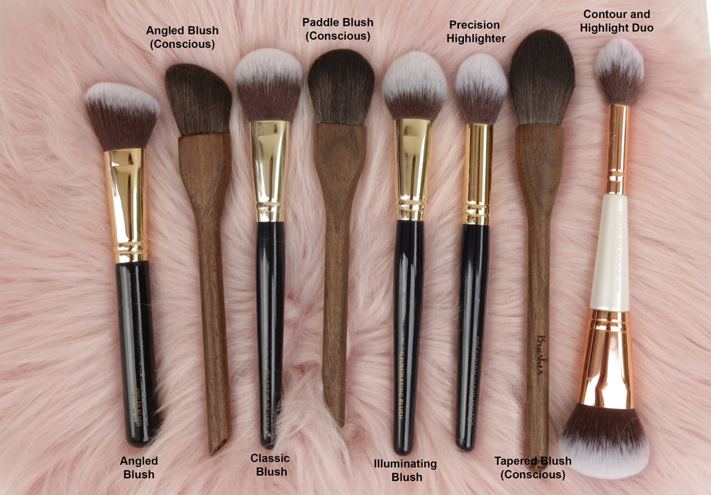 13rushes blush brushes