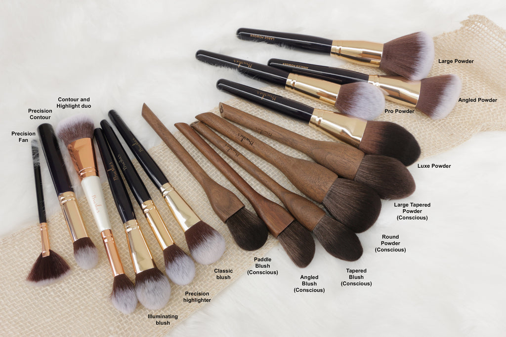 13rushes face brush sizes
