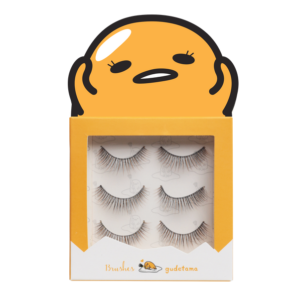 Gudetama lashes - EGGffortless