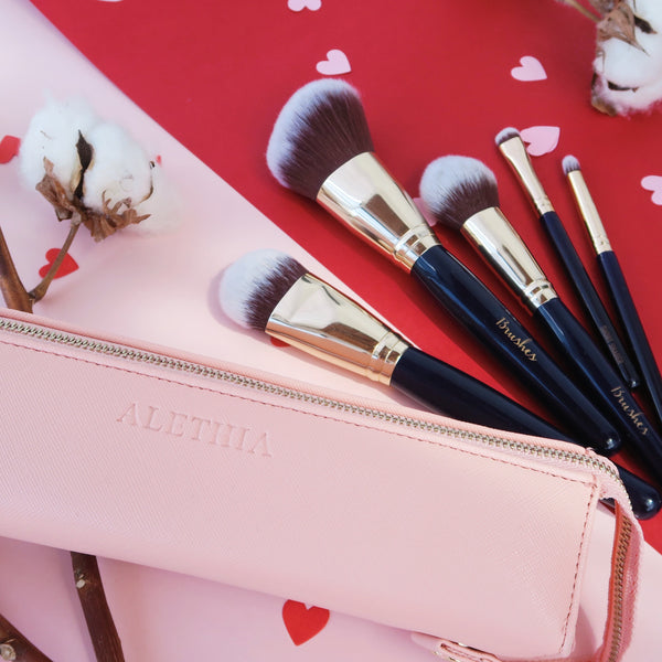 Cupid's 5pcs Kit (with personalised monogram on pouch)