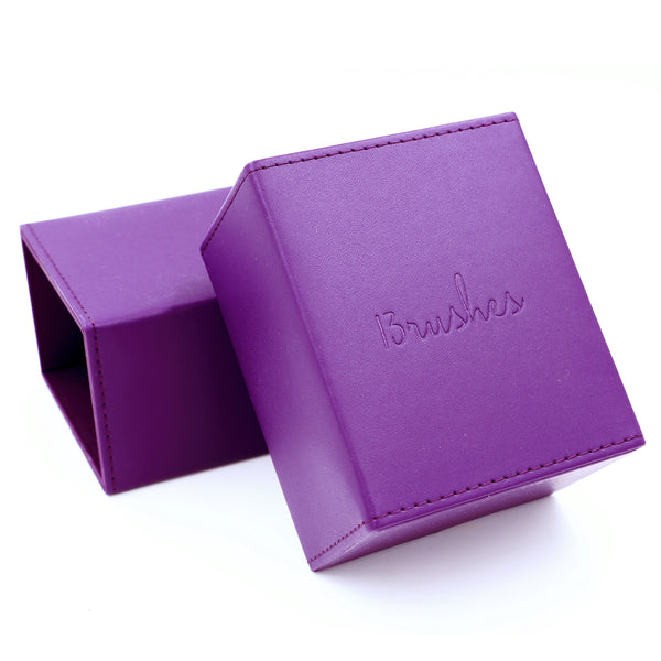 Purple Magnetficent brush holder (Large) - 13rushes - Singapore's best makeup brushes