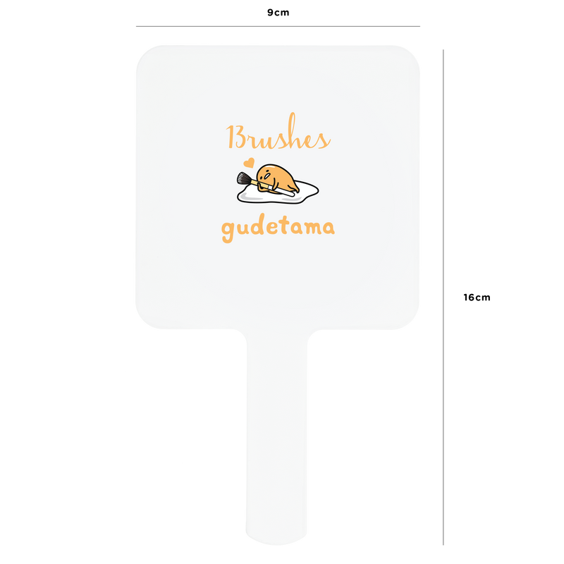 Gudetama Mirror - Brush Bolster